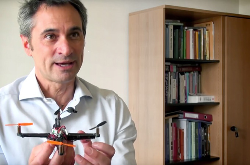 EPFL_Flying_Robot_Research_Dario_Floreano