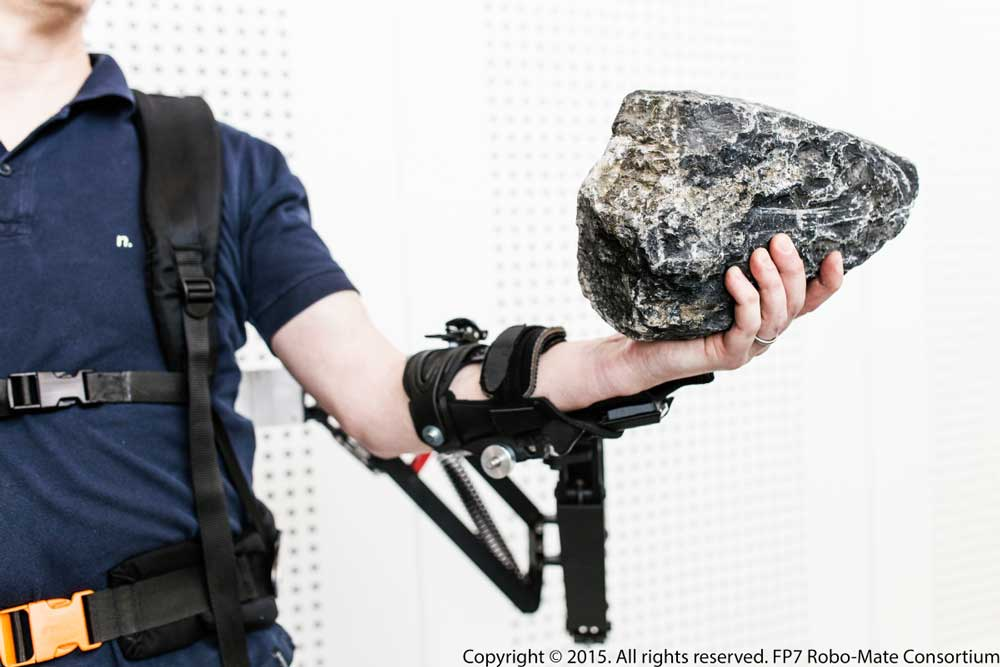 Robo-Mate has made a prototype of an exoskeleton. Image courtesy of Robo-Mate.