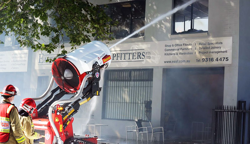 TAF-20_Australia_Firefighting_robot_emergency_response