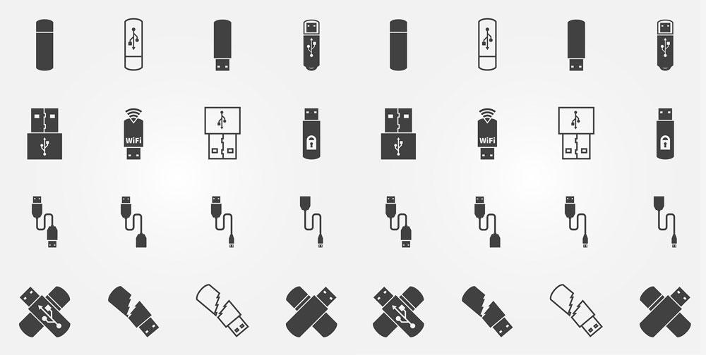 USB_icons