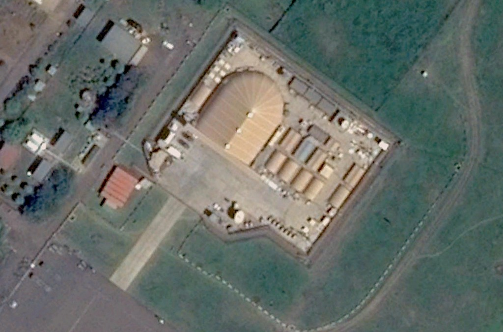 The U.S. is expected to close the drone base at Arba Minch, Ethiopia. Image via CNES/Astrium.