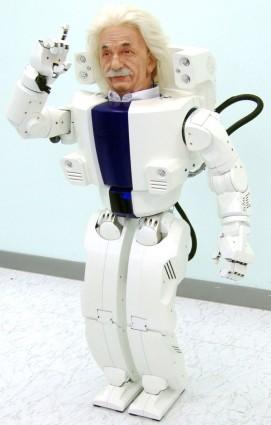 Einstein_Hubo_robot
