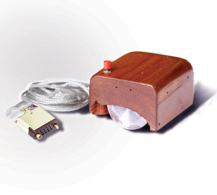 Engelbart's prototype of a computer mouse, as designed by Bill English from Engelbart's sketches. Image: Wikipedia via Macworld