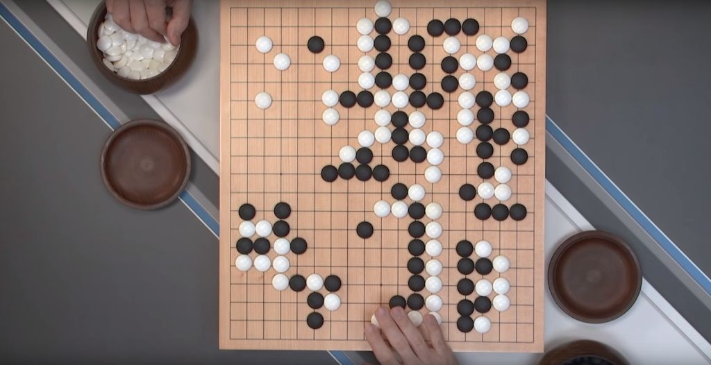 Google DeepMind Challenge Match: Lee Sedol vs AlphaGo. Credit: Deepmind/YouTube