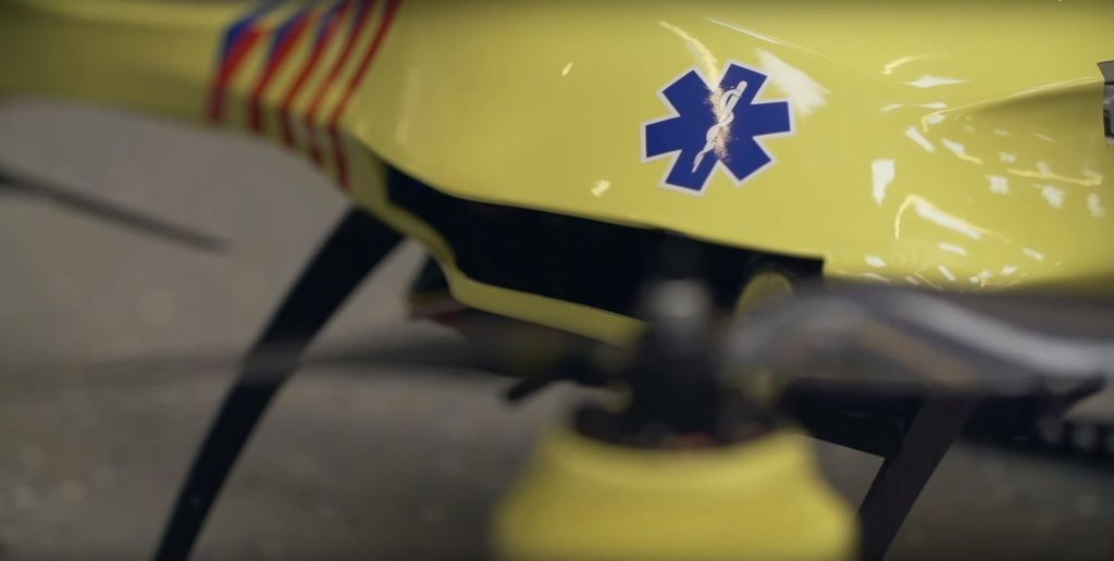 Source: TU Delft Ambulance Drone/Youtube