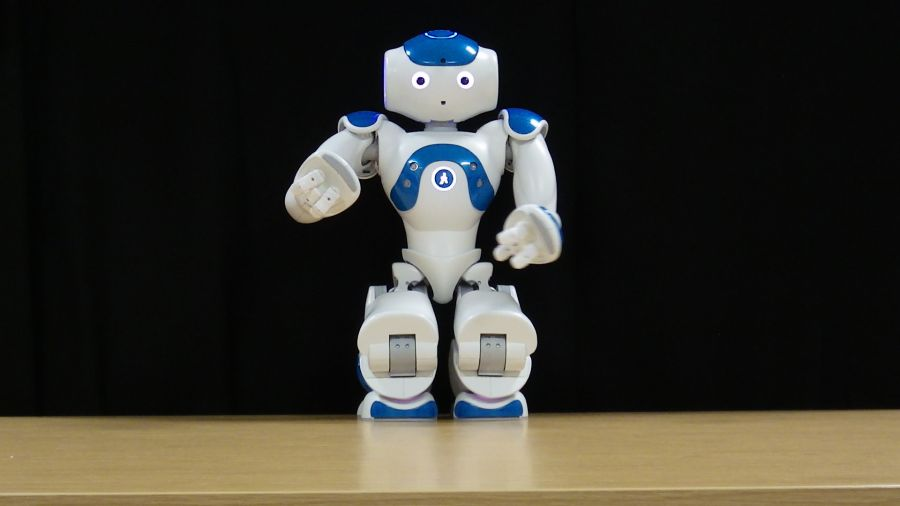 NAO robot. Photo courtesy: Paul Bremner/UWE