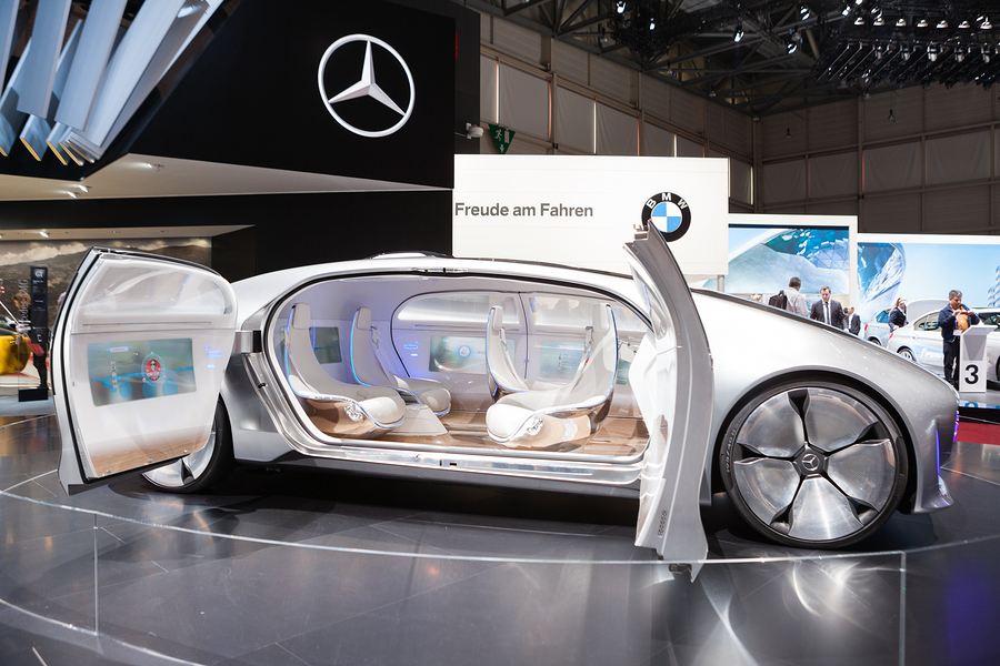 Mercedes-Benz concept car.