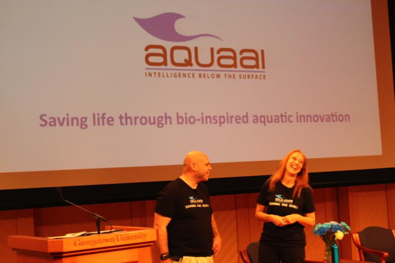 Aquaai founders Simeon Pieterkosky & Liane Thompson
