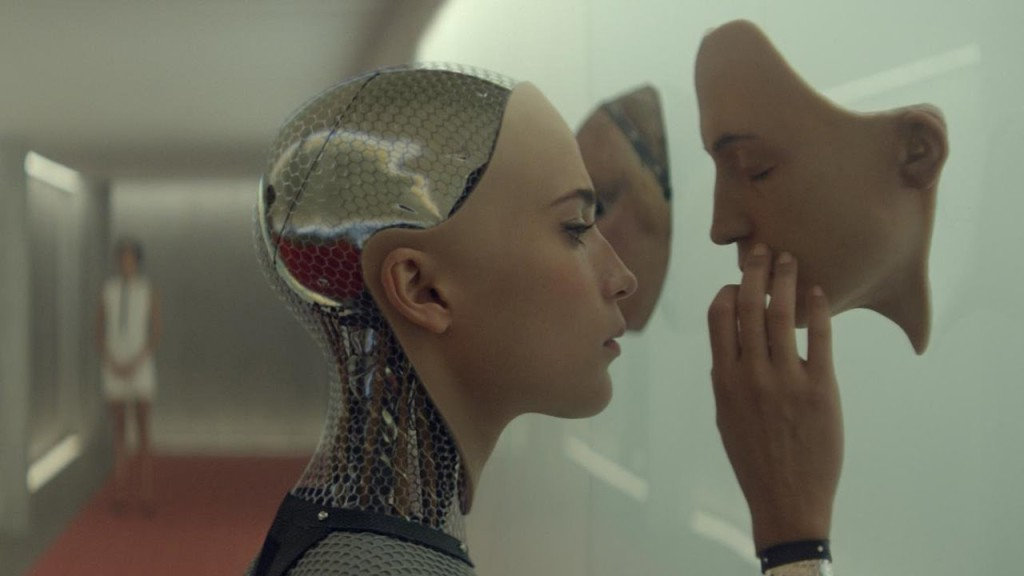 Ex Machina. Source: Youtube/Universal Pictures