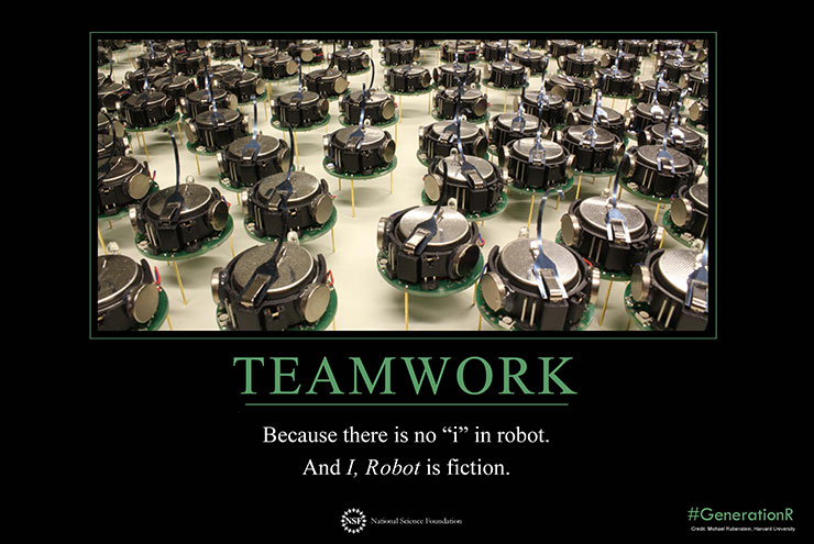teamwork motivation poster