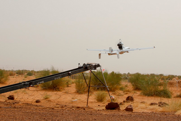 The German military began UAV reconnaissance operations last week in Mali as part of a UN peacekeeping mission. Credit: German Ministry of Defense