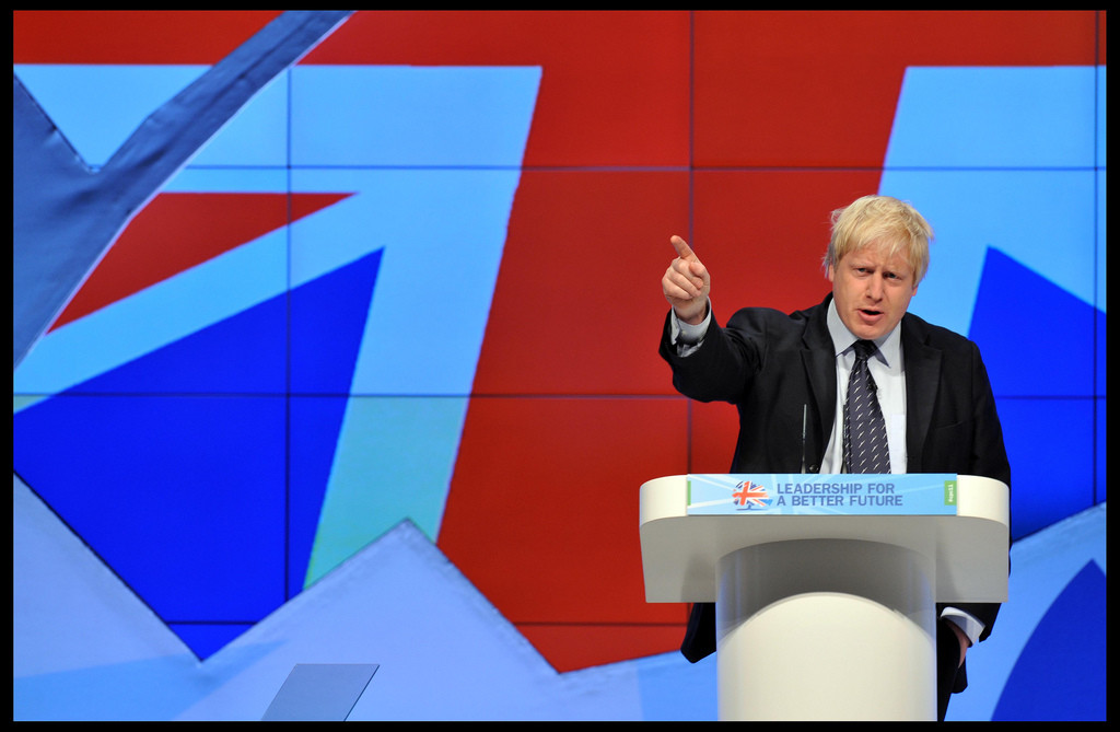 Boris Johnson at Conservative Party Conference, 2011. Credit: Flickr