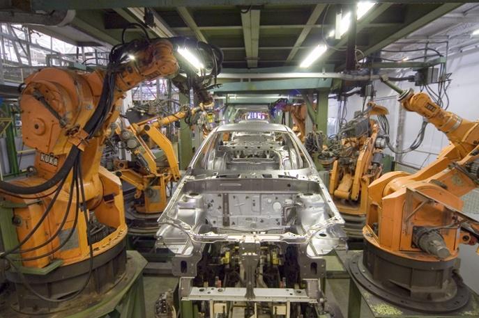 Kuka Industrial Robots. Source: Robotiq