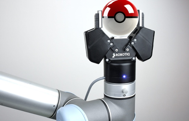 Pokeball and Robotiq. Source: Robotiq
