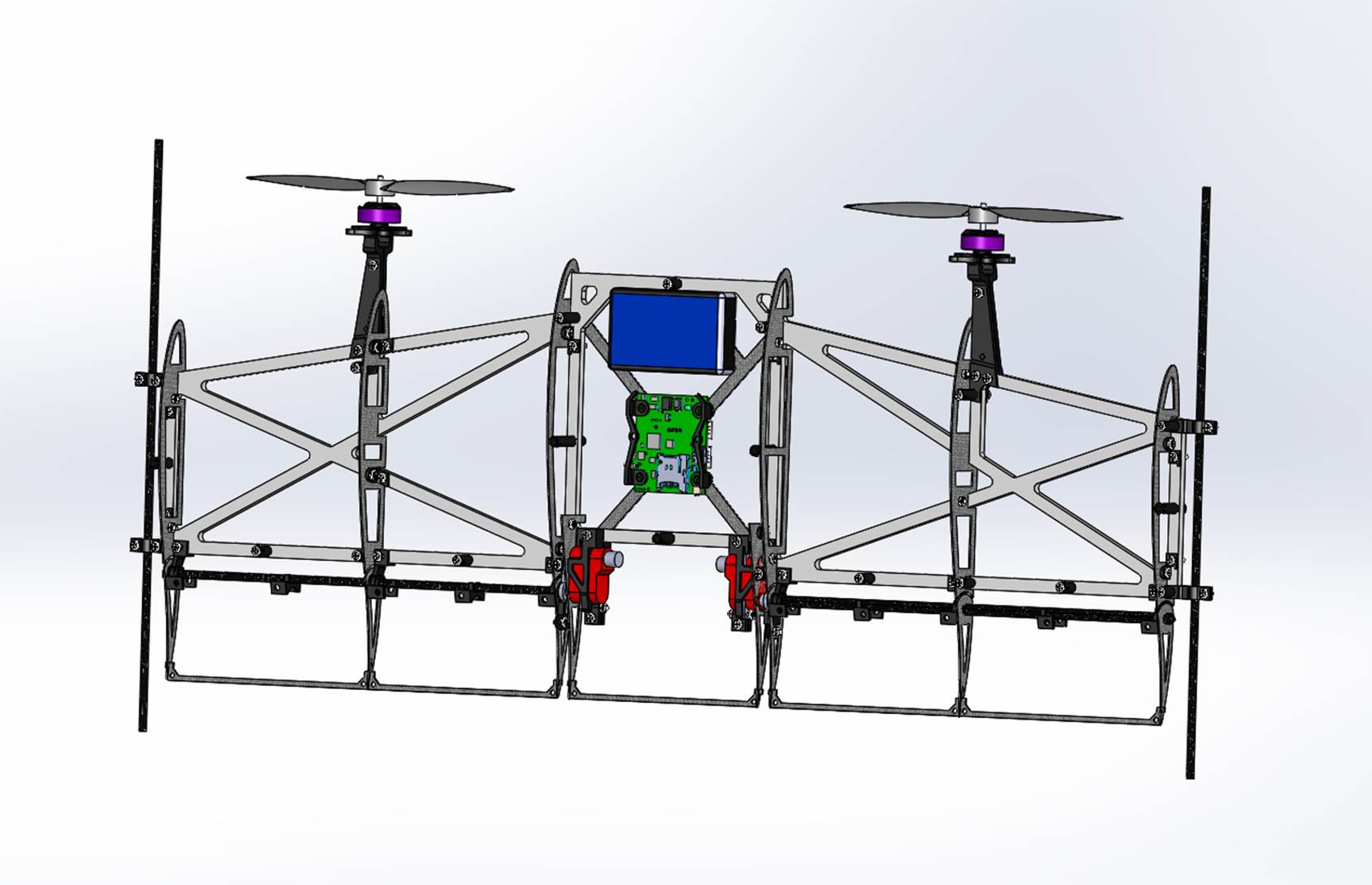 'IDSC Tailsitter' flying robot performs vertical loops and easily transitions between hover and forward flight