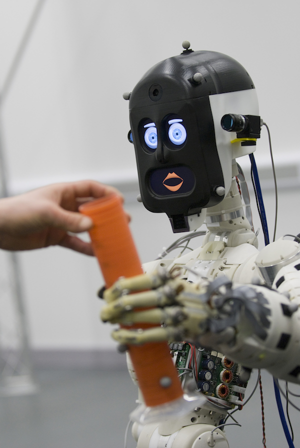 BERT2, a humanoid robot assistant. Credit: University of Bristol