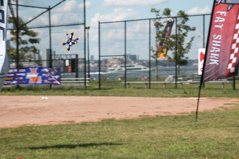 The U.S. National Drone Racing Championships in New York on Sunday August 7, 2016. Credit: Dan Gettinger