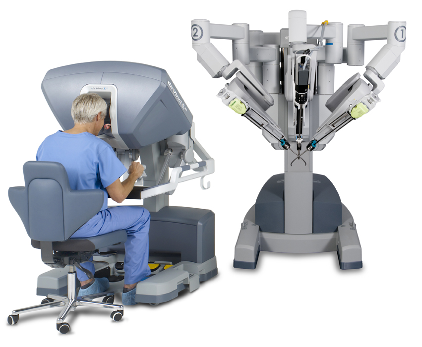 da Vinci Si System with single-site instrumentation ©2016, Intuitive Surgical, Inc.