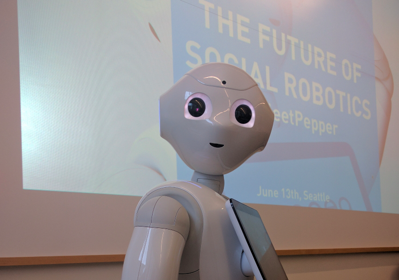 The Future of Social Robotics, by Nicolas Rigaud. Source: Margaret Maynard-Reid/Medium