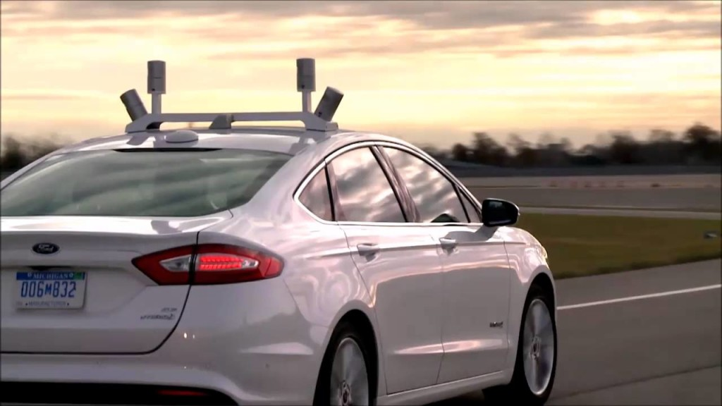 Source: Ford Velodyne LiDAR/YouTube