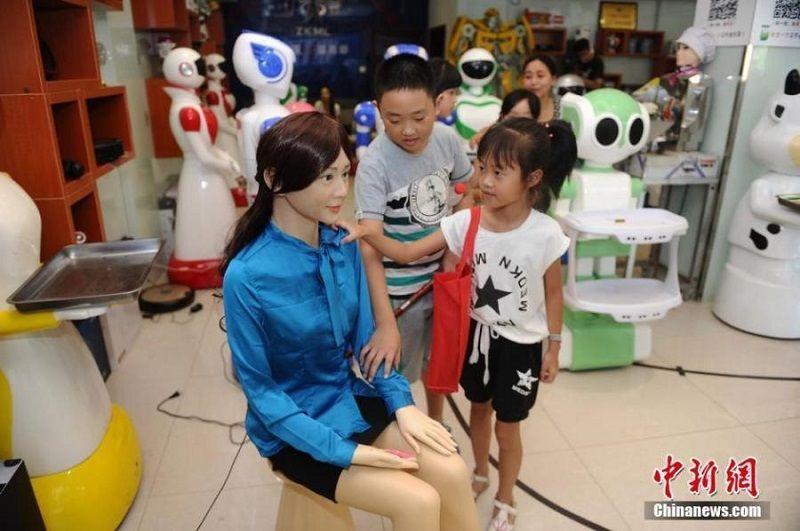 Hunan Changsha 5S robot store. Source: gog.cn