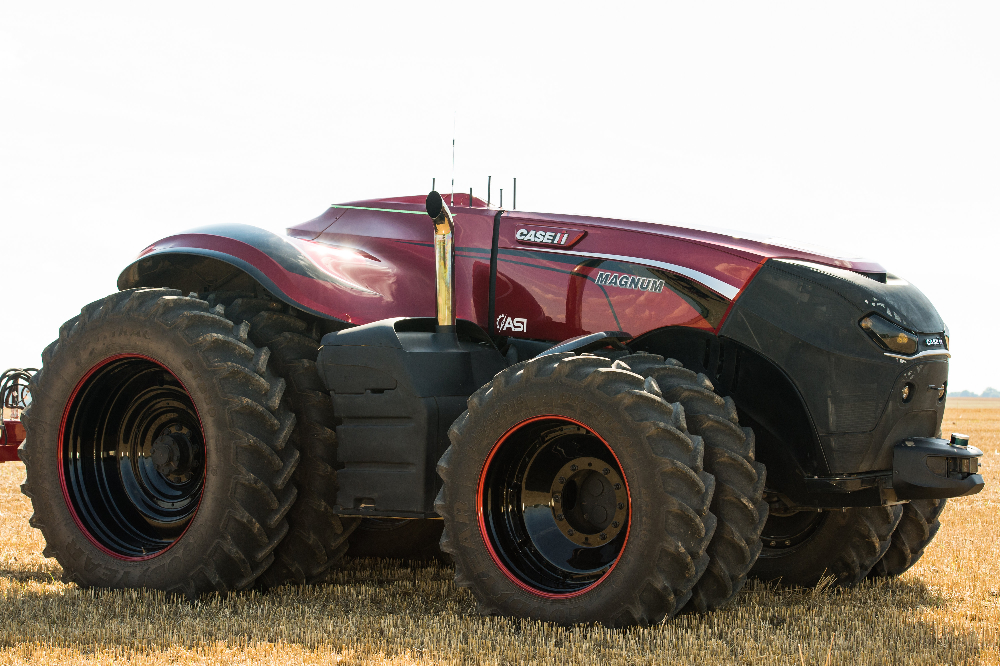 Case IH autonomous concept vehicle. Source: cnhindustrial