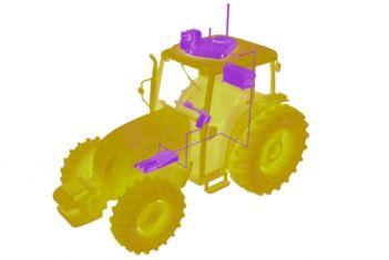 Autonomous tractor kit.