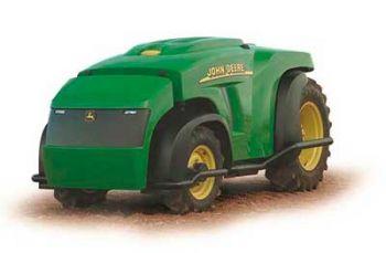 John Deere driverless tractor.