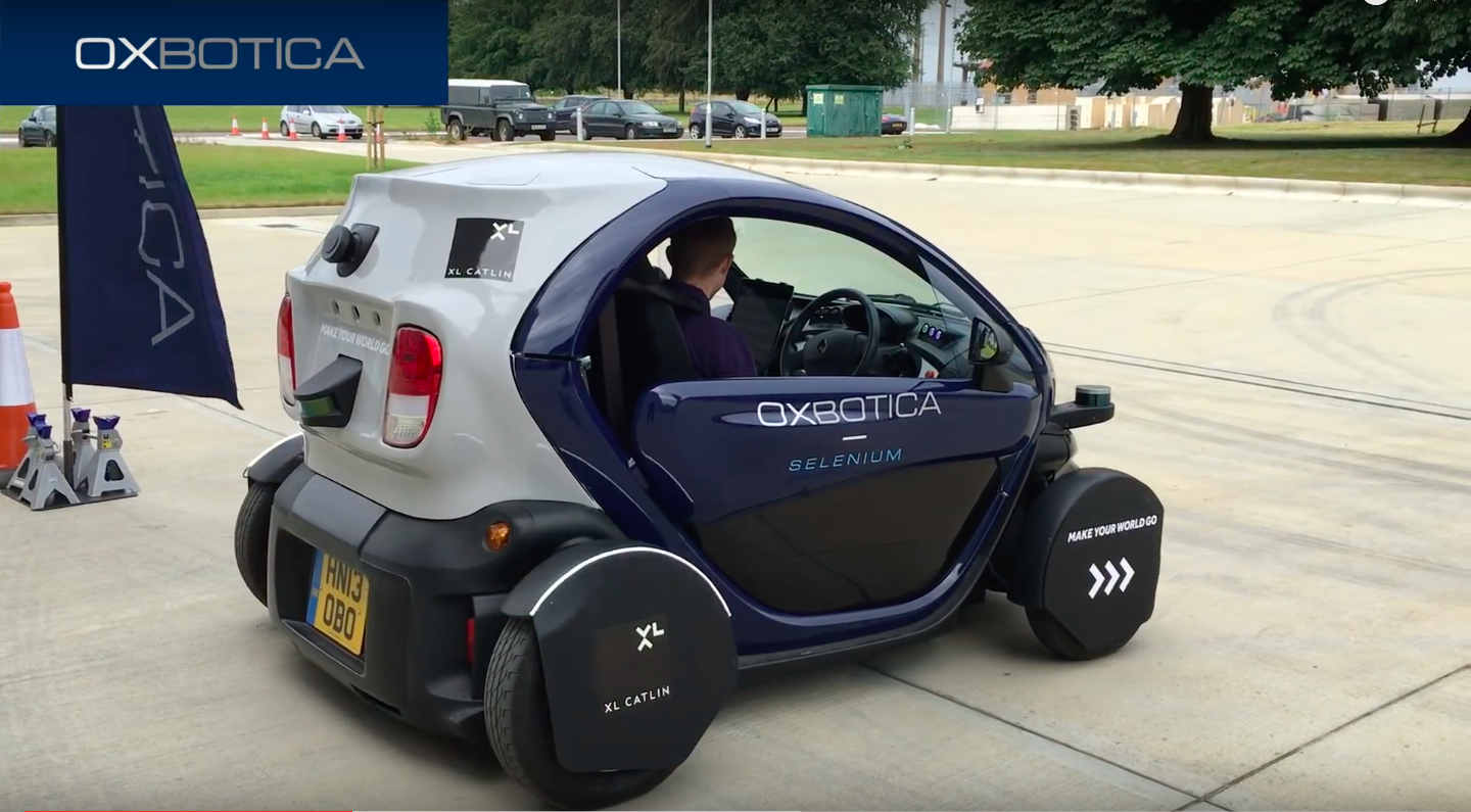Oxbotica S Autonomous Vehicle Software Learns Its