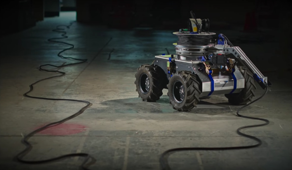 TReX (Tethered Robotic Explorer). Credit: utiasASRL/YouTube