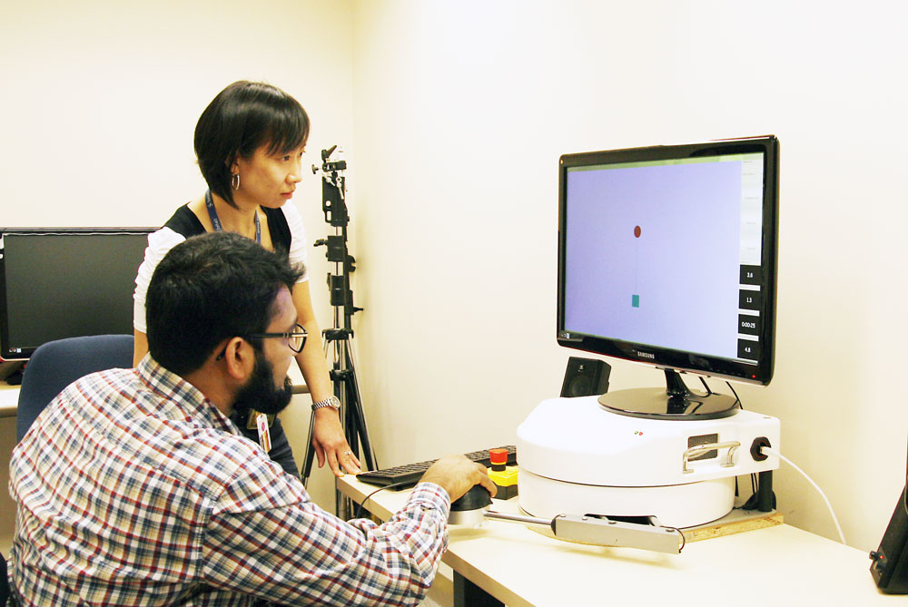 Photo courtesy IATSL (Intelligent Assistive Technology and Systems Lab)  at Toronto Rehab, University of Toronto.