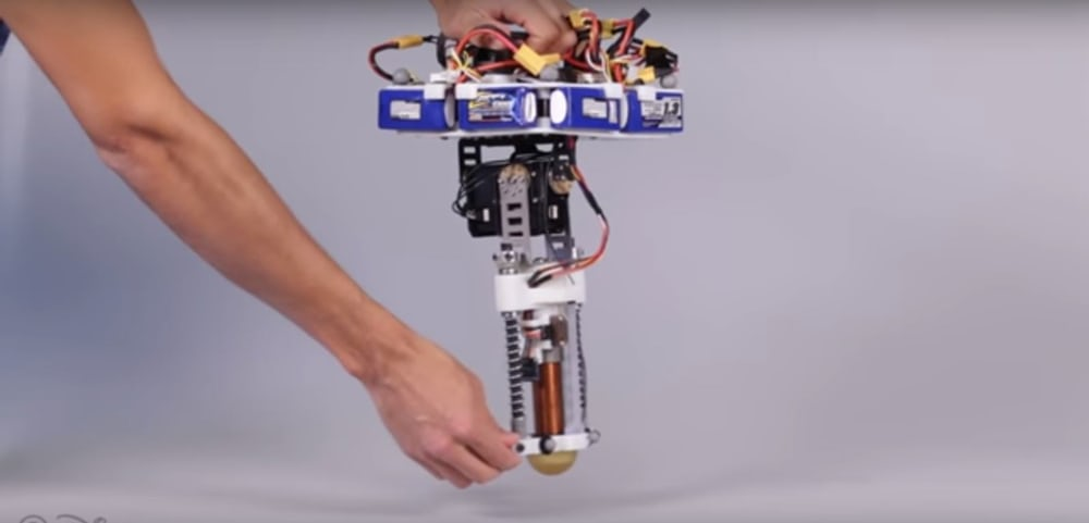 The Disney hopping robot is the first built since 2007 (Credit: Disney Research)