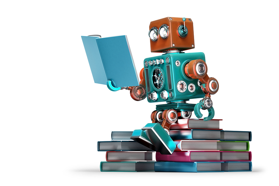 retro-robot-reading-book-thinking-AI