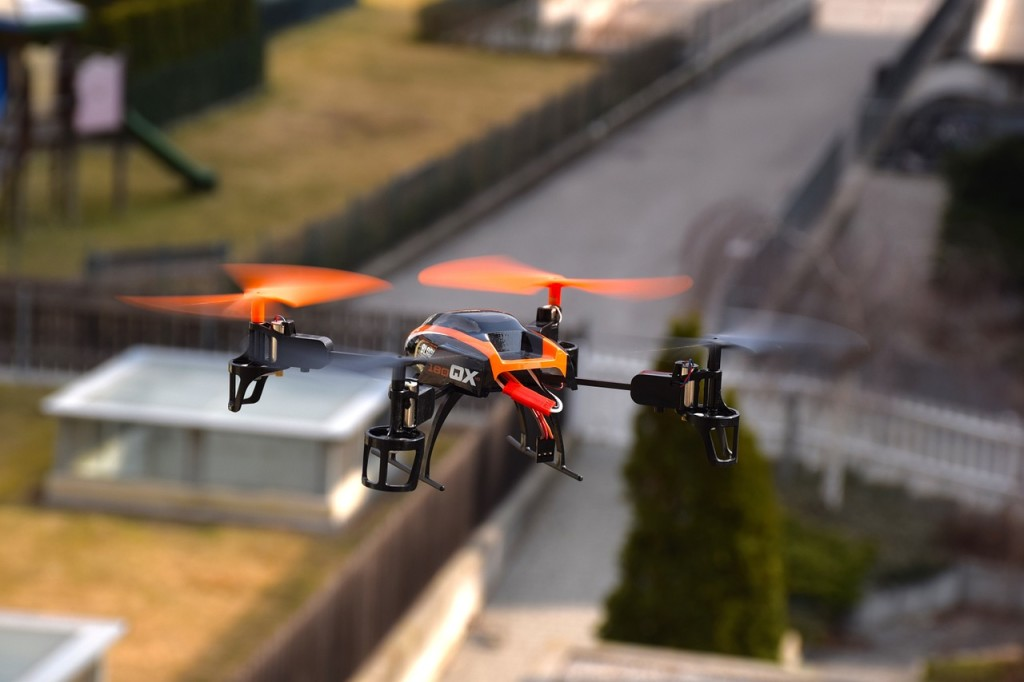 Drone in flight. Credit: CC0 Public Domain