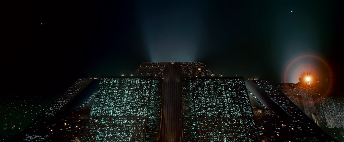 Photo: Tyrell Corporation HQ – Blade Runner (1982)