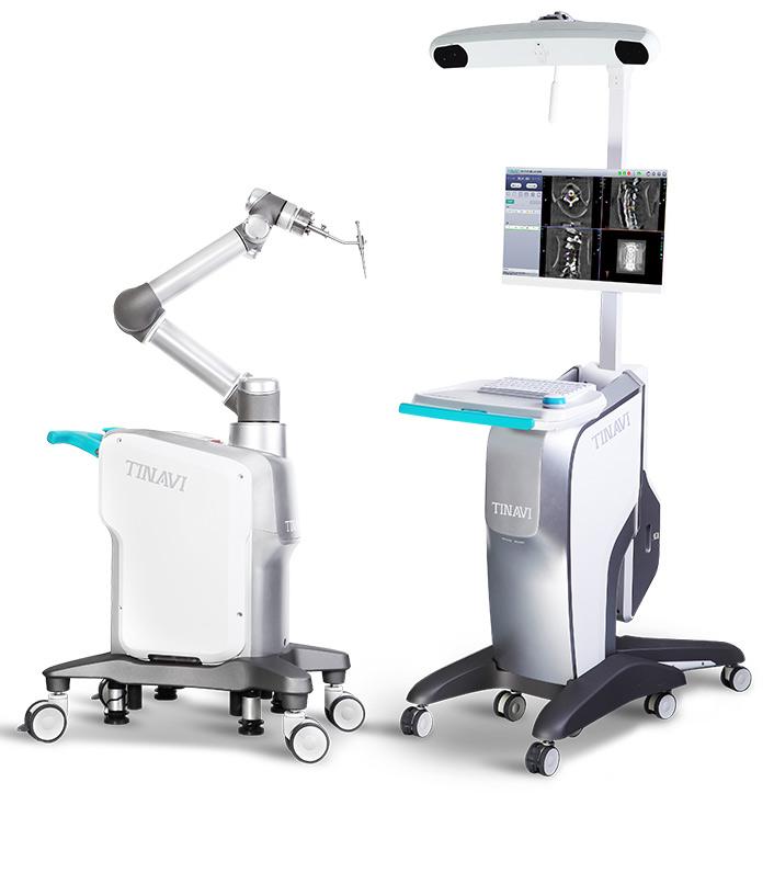 TiJi orthopedic surgery robot. Image: Tinavi