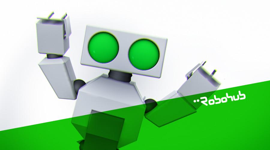 cheering-robohub-anniversary-robotics-robot