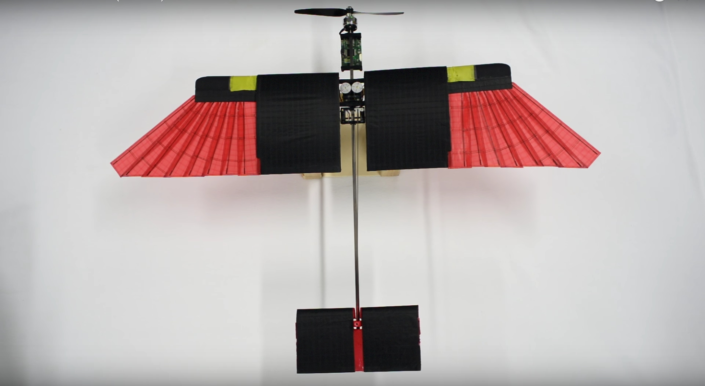 A drone that flies (almost) like a bird | Robohub