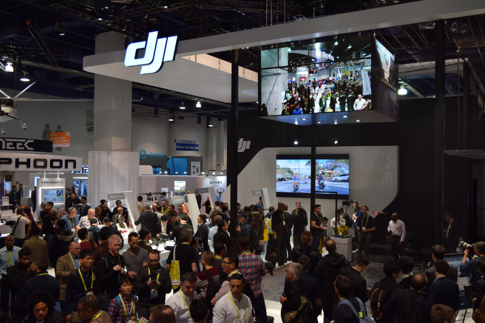 DJI-booth-drone-CES2017