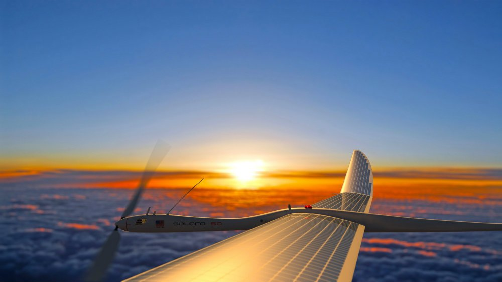 Google cancelled its project that aimed to build high-altitude solar-powered drones. Credit: Titan Aerospace