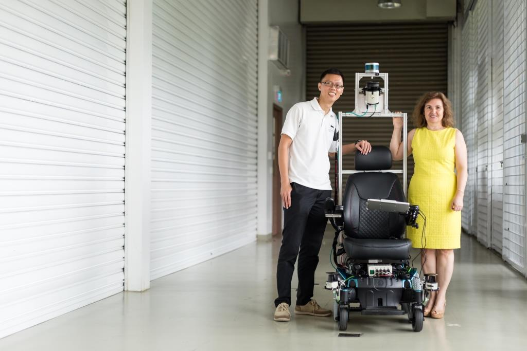 Smart Trials Self Driving Wheelchair At Hospital Robohub
