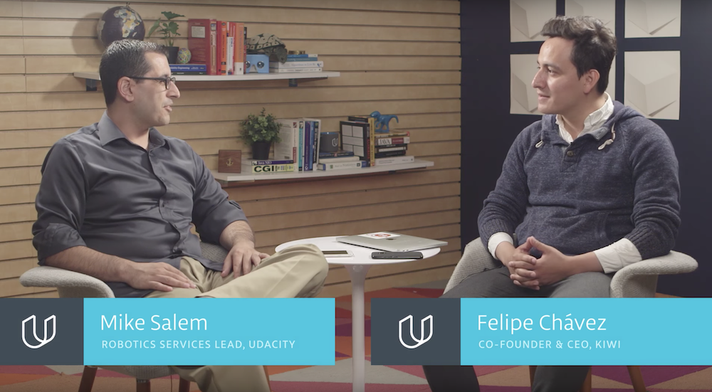 Udacity Robotics video series: Interview with Felipe Chavez from