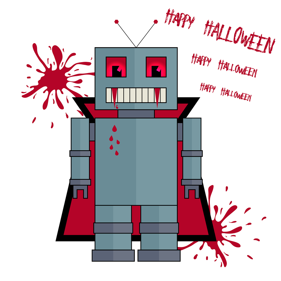 happy halloween everyone hereu0027s a selection of this yearu0027s robot videos and tweets to get you in the mood