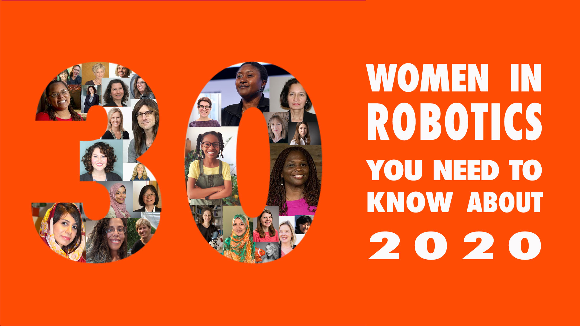 30 women in robotics you need to know about – 2020