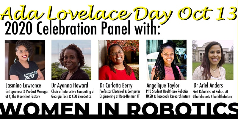 Ada Lovelace Day 2020 Celebration of Women in Robotics