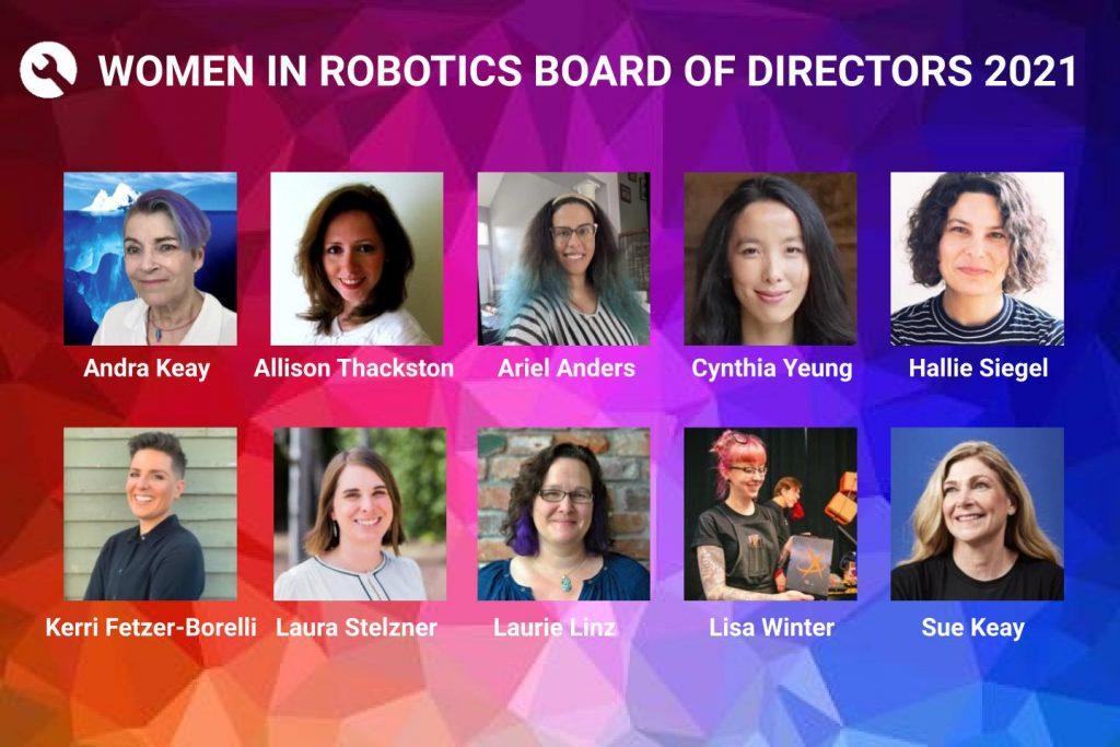 Women in Robotics Update: introducing our 2021 Board of Directors