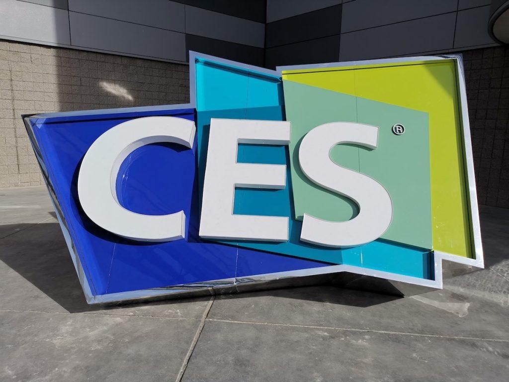 CES banner