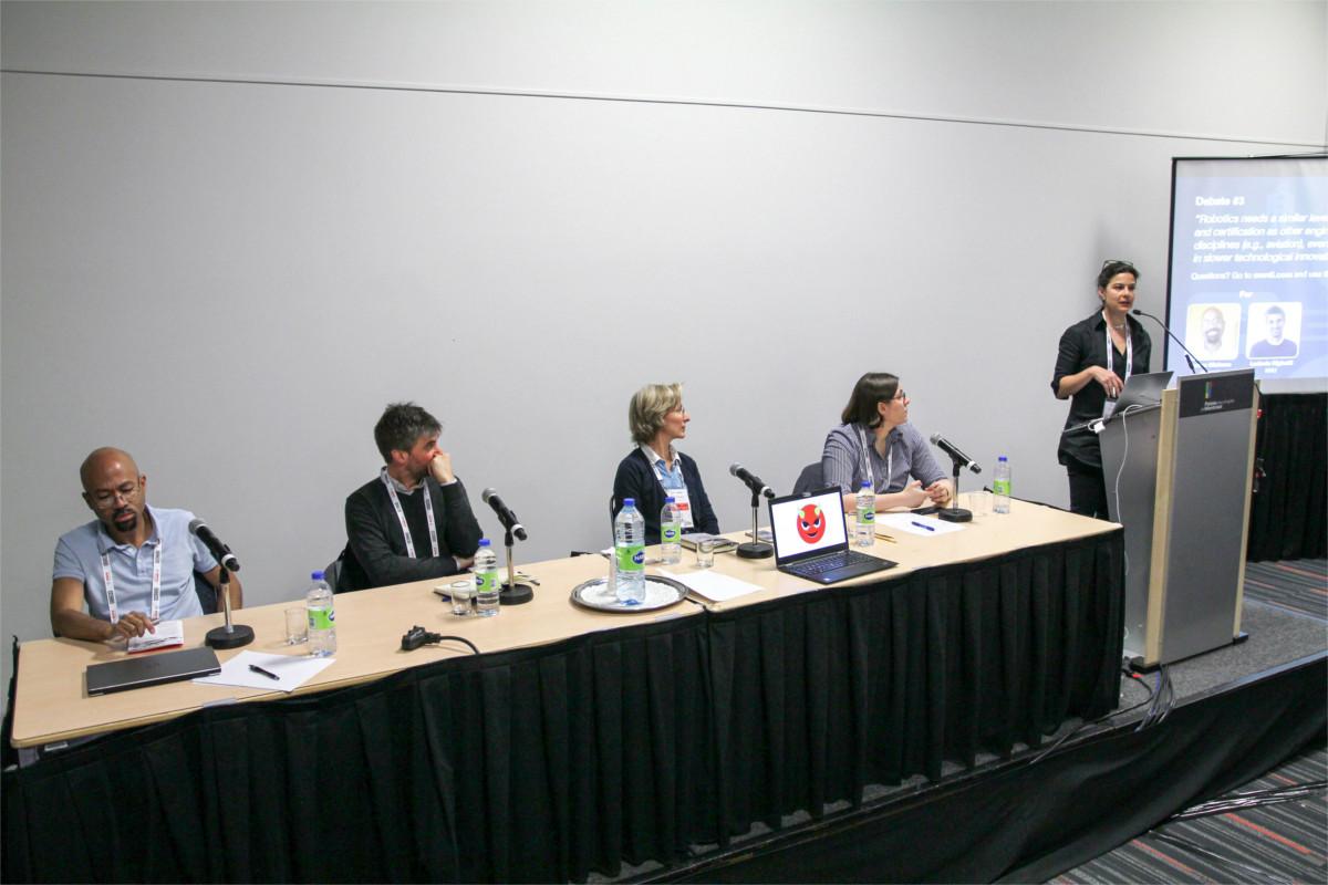 Speakers at ICRA 2019 workshop