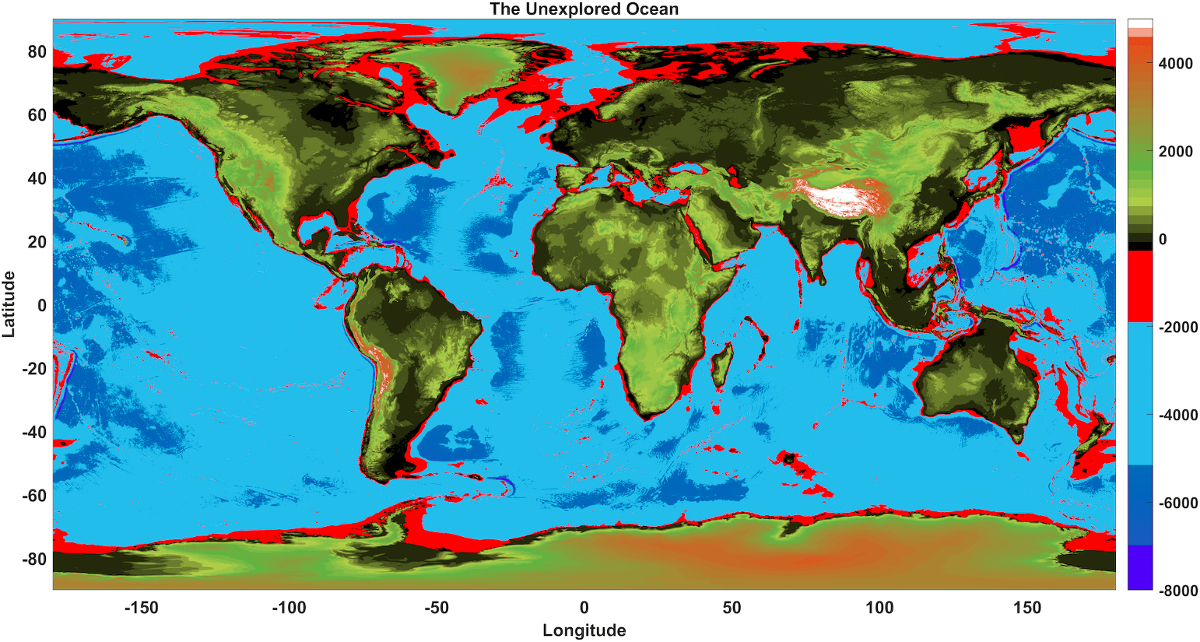 A map of the unexplored ocean