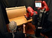 How to control robots with brainwaves and hand gestures